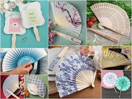 fan wedding favors summer wedding favors hotref party gifts