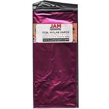 mylar tissue paper jam paper tissue paper foil fuchsia pink mylar 3 pack 1172416