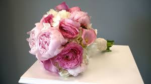 Peonies Bouquet Custom Designed Bridal Bouquets