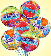 mylar balloons air rangement congratulations mylar balloons in linthicum heights