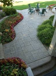 Backyard Concrete Ideas Best 25 Stamped Concrete Patios Ideas On Pinterest Stamped