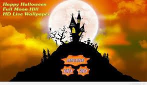 3 d halloween wallpaper happy halloween night wallpaper 3d