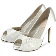 Wedding Shoes Amazon Pink Paradox London Fancy Ivory Wedding Shoes Size 2 Amazon Co Uk