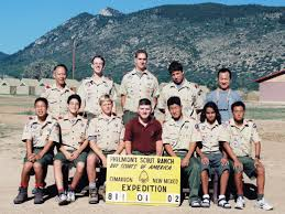 Philmont Scout Ranch Map Past High Adventure Outings Jpl Boy Scout Troop 509