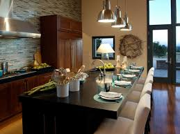 Kitchen Island With Oven by Dining Room Awesome Brown Themed Candice Olson Kitchen Design