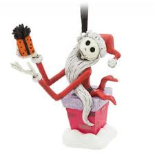 disney store 2017 sketchbook ornament skellington