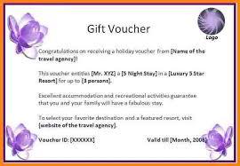 40 free gift certificate templates template labgift voucher