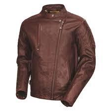 motorcycle gear jacket roland sands design clash leather jacket oxblood mens
