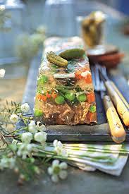 cuisiner du paleron de boeuf recette terrine de boeuf en gelée