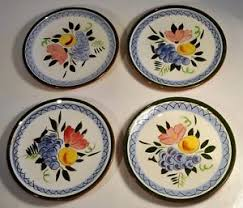 stangl pottery fruit and flowers vintage set of 4 1958 stangl pottery fruit flower 6 1 4