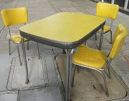 yellow kitchen table and chairs new arborite kitchen table and chairs pet ciao com