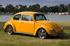 orange volkswagen beetle ikw wanroij 2013 int kever weekend vw beetle budel classiccult