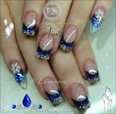 blue nail designs acrylic nails u2013 slybury com
