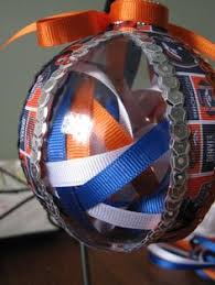 lions broncos football ornaments by scrabbletileornament on etsy