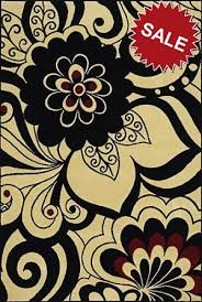 Sphinx Area Rug Weavers Andy Warhol Pure 504x Flowers Ivory Closeout Area Rug