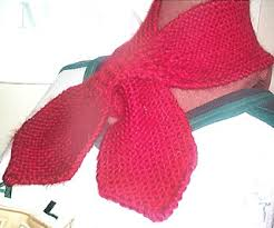 knitting pattern bow knot scarf ravelry loom knit bow tie scarf pattern by jessica barto