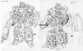 transformers classics optimus prime robot mode design sketches