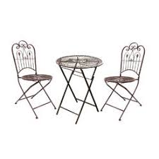 Metal Folding Bistro Chairs Metal Folding Bistro Set