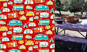 stay put table covers amazon com custom stay put reusable fitted tablecloth super cute