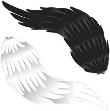 black and white wings by bluejessiejem on deviantart