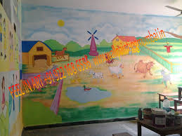 playschool wall murals play school themed wall murals painting we are specialized for hand painted wall murals painting for play school classroom wall decoration please contact for more information