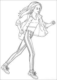 barbie coloring pages free fablesfromthefriends