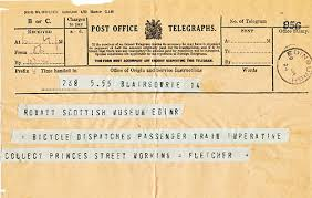how do you send a telegram message matters collecting telegrams for national museum of