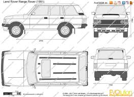 range rover sketch the blueprints com vector drawing land rover range rover