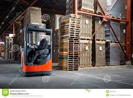 Forklift Truck Driver Jobs Reach Truck Driver In A Warehouse Stock Photo Image 46197267