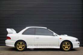 subaru gc8 coupe sold subaru impreza wrx sti version 5 coupe auctions lot 23