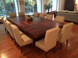 Big Wood Dining Table Large Dining Room Table Seats 12 With Glass Dining Table Design