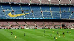 tearful gerard pique after barcelona u0027s closed door win over las
