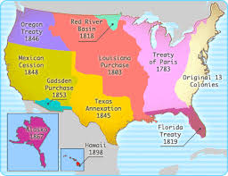 usa map louisiana purchase interactives united states history map the nation expands