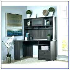 espresso desk with hutch bush l shaped desk inch l shaped desk and hutch bush office