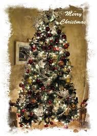 fashioned christmas tree fashioned christmas tree framed seasonal