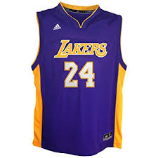 amazon com nba los angeles lakers kobe bryant away replica