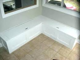 Corner Bench With Storage Corner Bench Seating With Storage Diy Seat Kitchen S