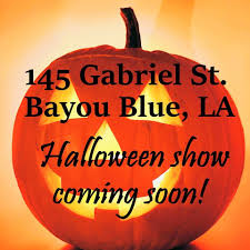 light o rama halloween bayou blue dancing lights home facebook