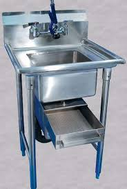 Grease Trap For Kitchen Sink Commercial Disposer To Grease Trap Converters