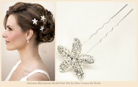 hair accesories starfish bridal hair accessories for your wedding hair