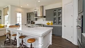 Dalia Kitchen Design Kensley New Homes Milton Ga John Wieland