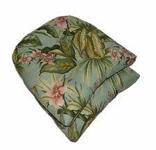 mainstays outdoor oversized wicker seat cushion snowball floral