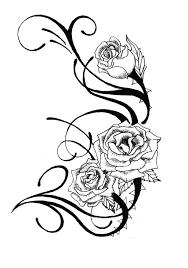 rose tattoo designs free cool tattoos bonbaden rose tattoo