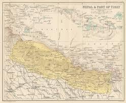 Maps Nepal by Modern Index