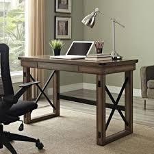 Rustic Office Desk Altra Wildwood Wood Veneer Desk Tim S Room Pinterest Wood