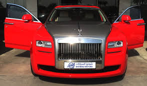 roll royce red rolls royce ghost shoneez motors