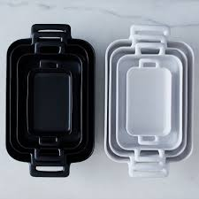 porcelain rectangular roasting dishes on food52