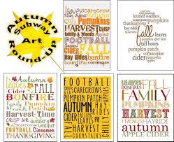 subway thanksgiving autumn subway art round up free printables bitz u0026 giggles