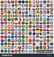 Flag Of The World Royalty Free Flags Of The World Rounded Squares U2026 221141566