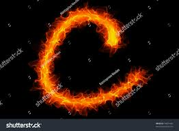 fire letter c graffiti stock photo 74097430 shutterstock